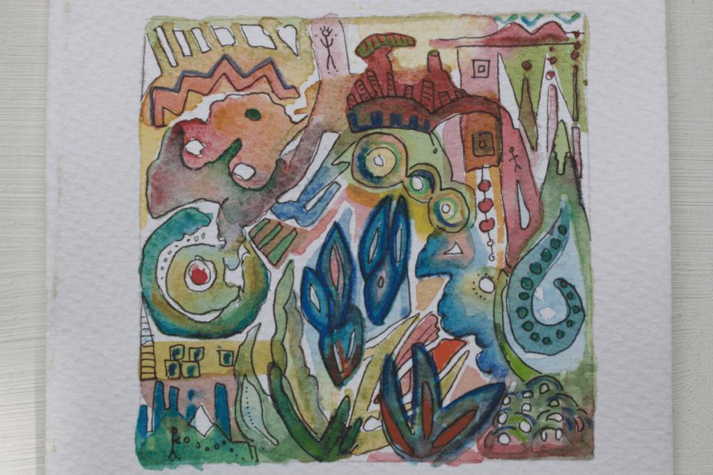 Watercolor: $20