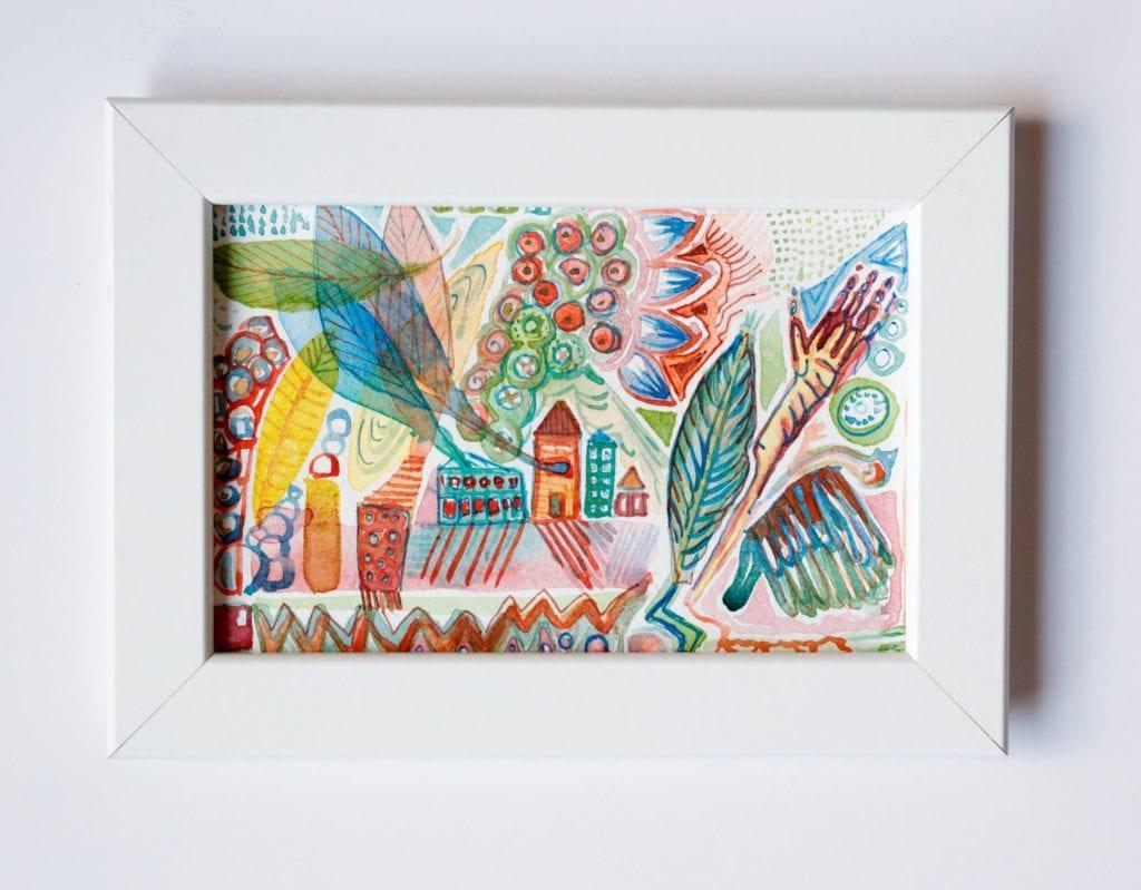 Watercolor: $15
