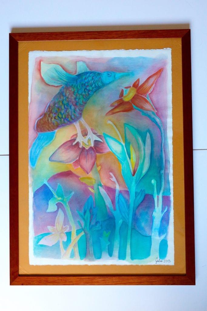 Watercolor: $125