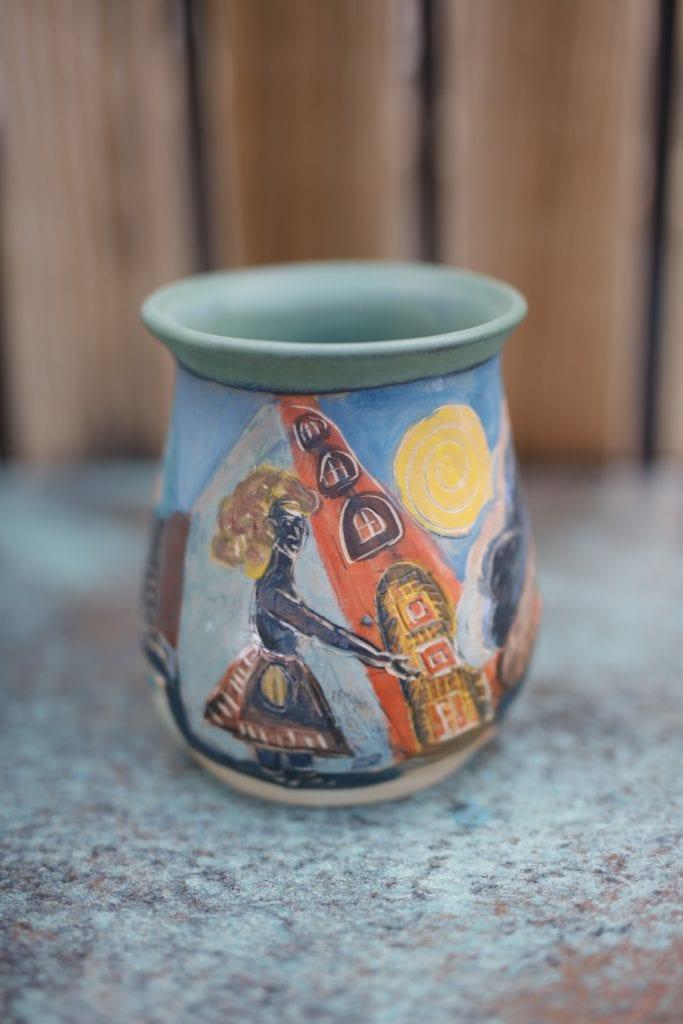 23. Large Ceramic vase $75