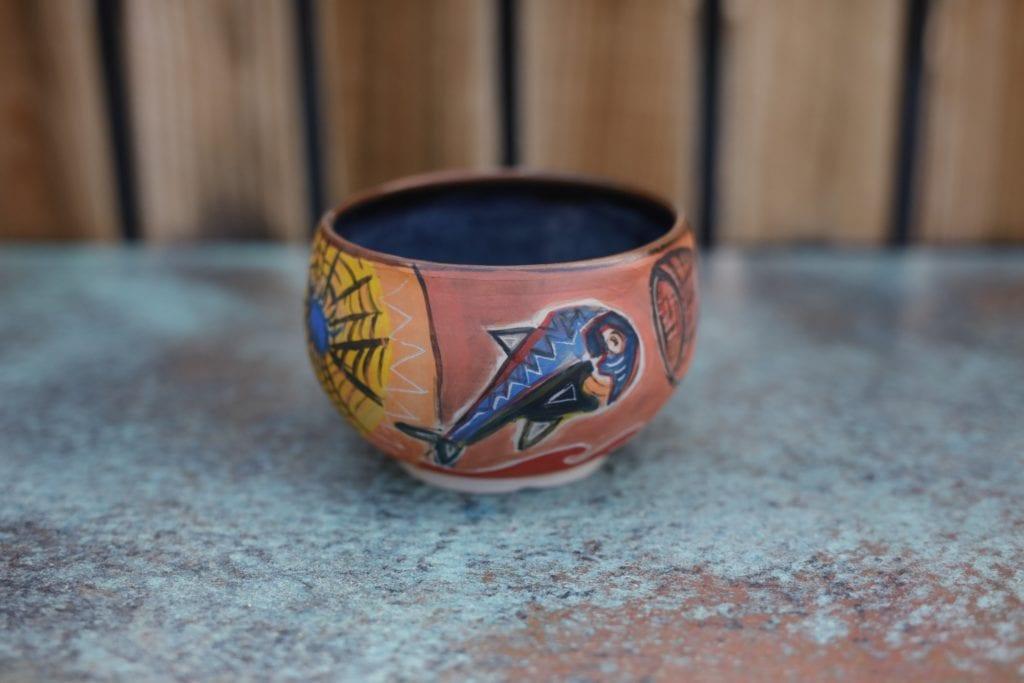 1. Large Ceramic Bowl  $45