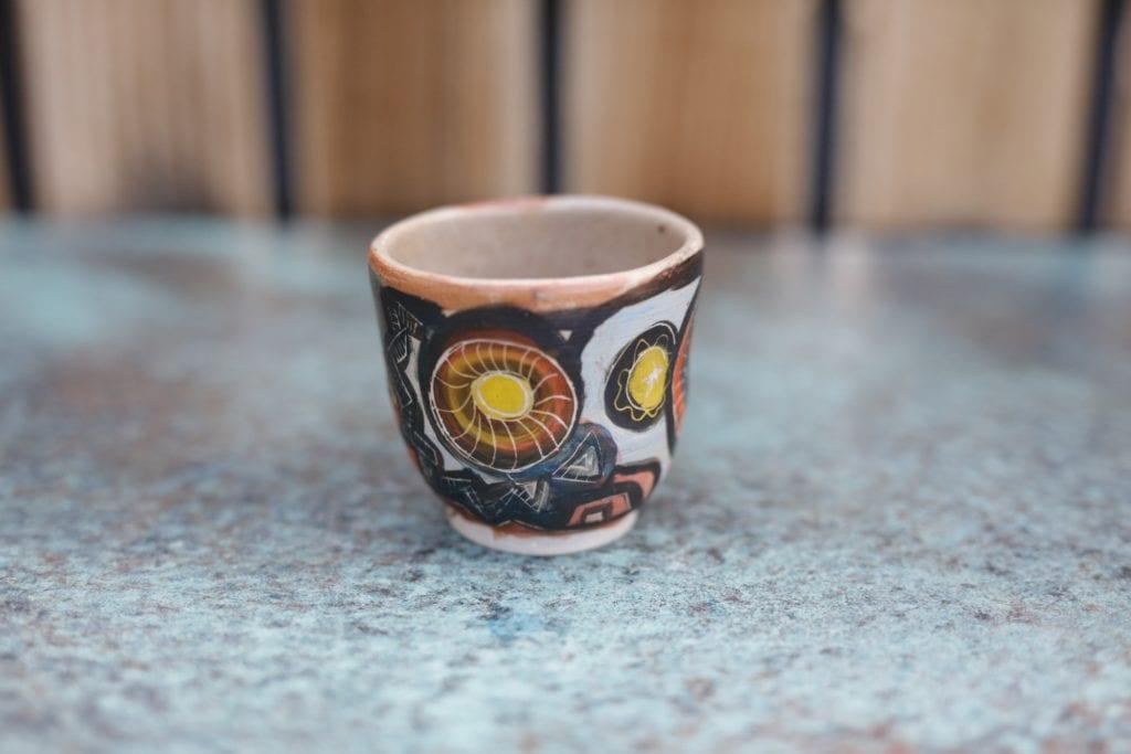 26. Ceramic cup $15
