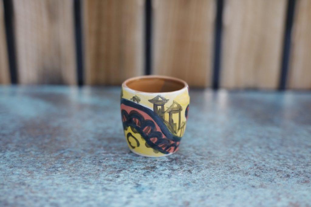 19. Ceramic cup $15