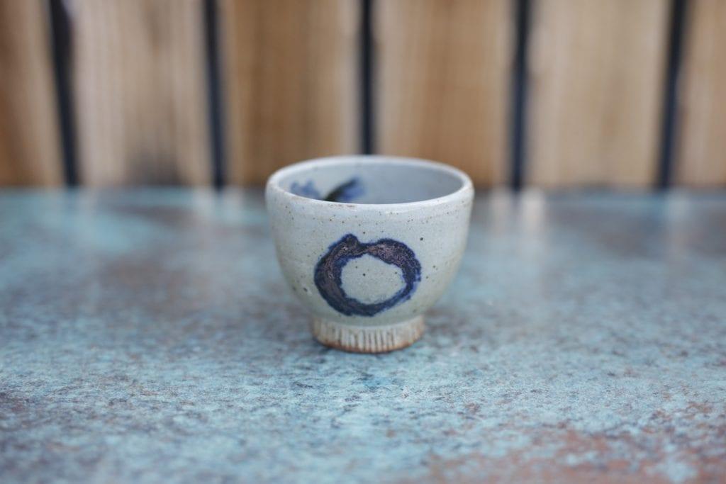 18. Ceramic cup $15