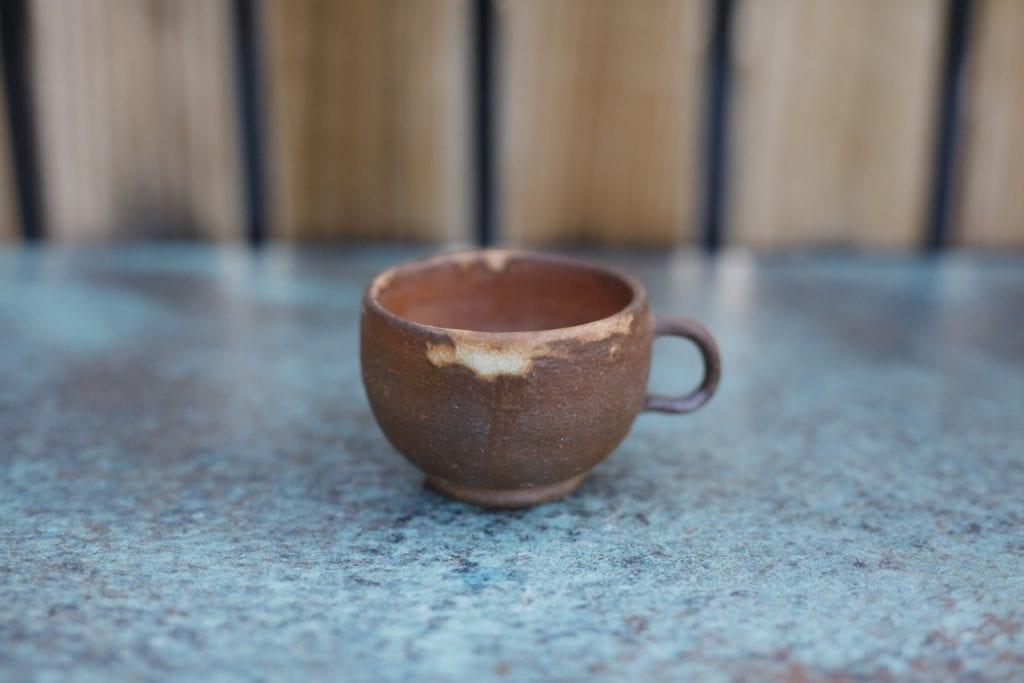 17. Ceramic cup $15