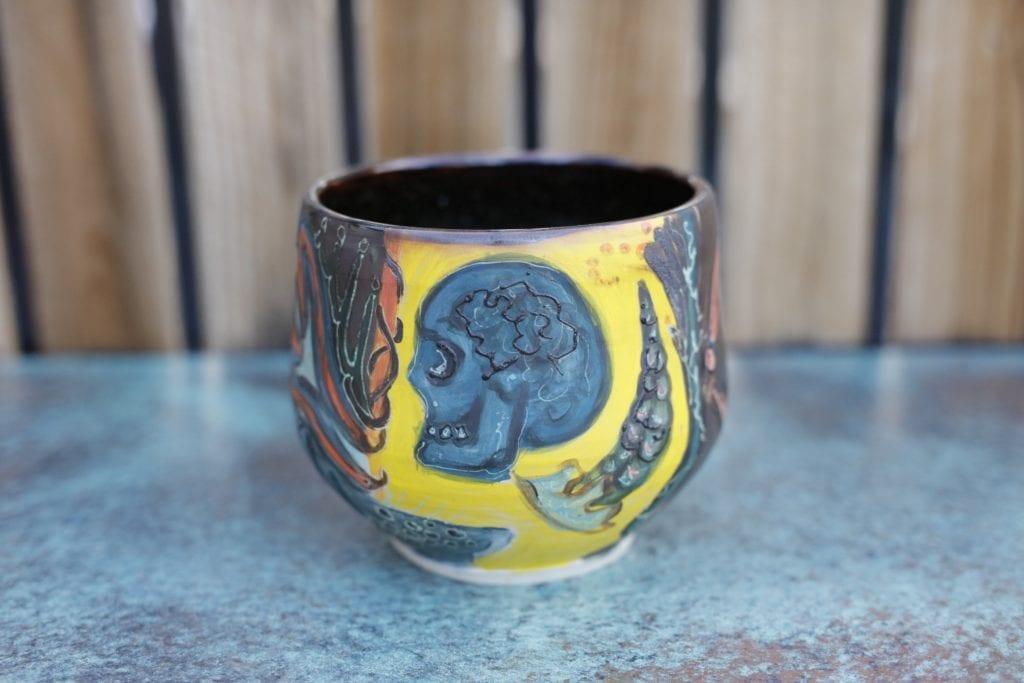 15. Large Ceramic plant vase $75