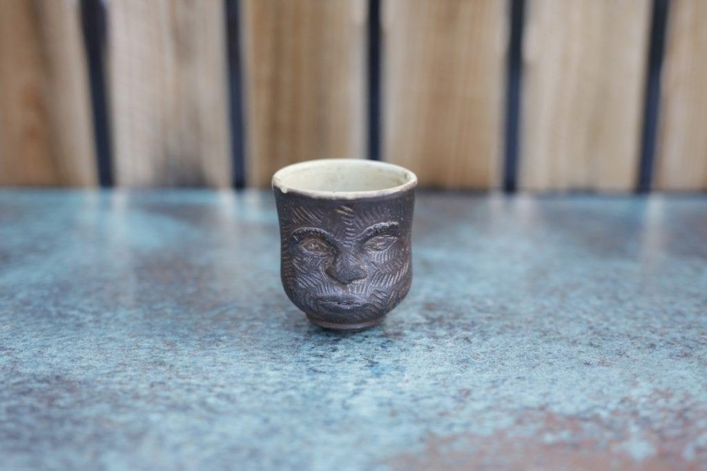 16. Ceramic cup $15