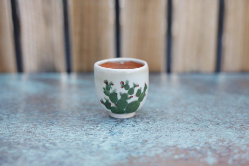 13. Ceramic cup $15