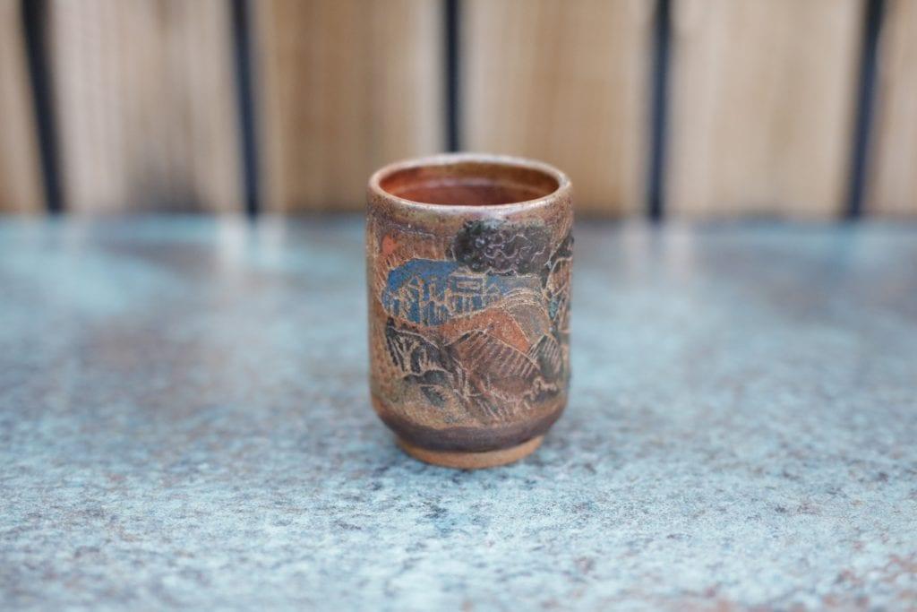 9. Ceramic cup $15