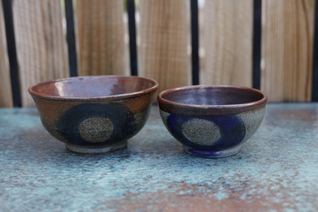 7. Set of 2 Ceramic Bowls $30