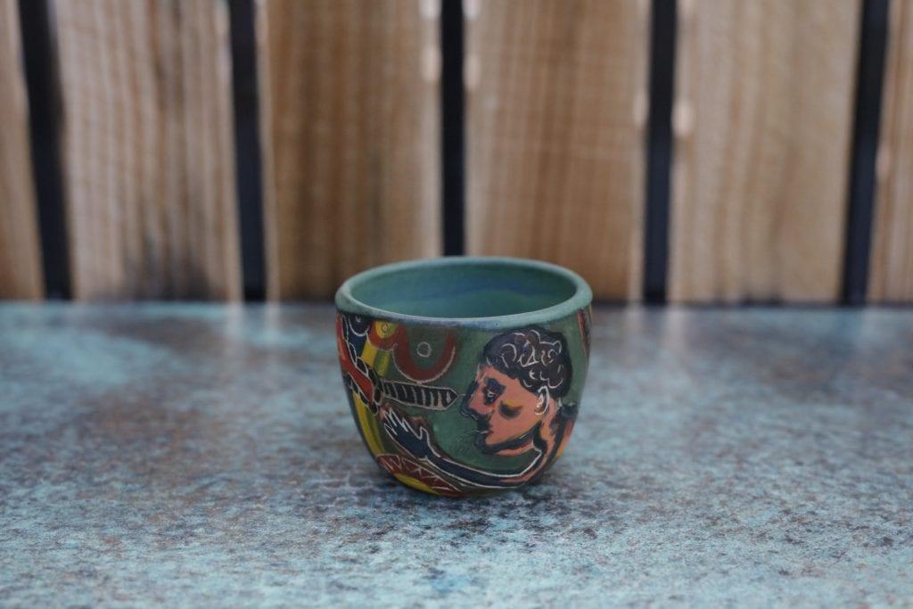 3. Ceramic cup 3 $15