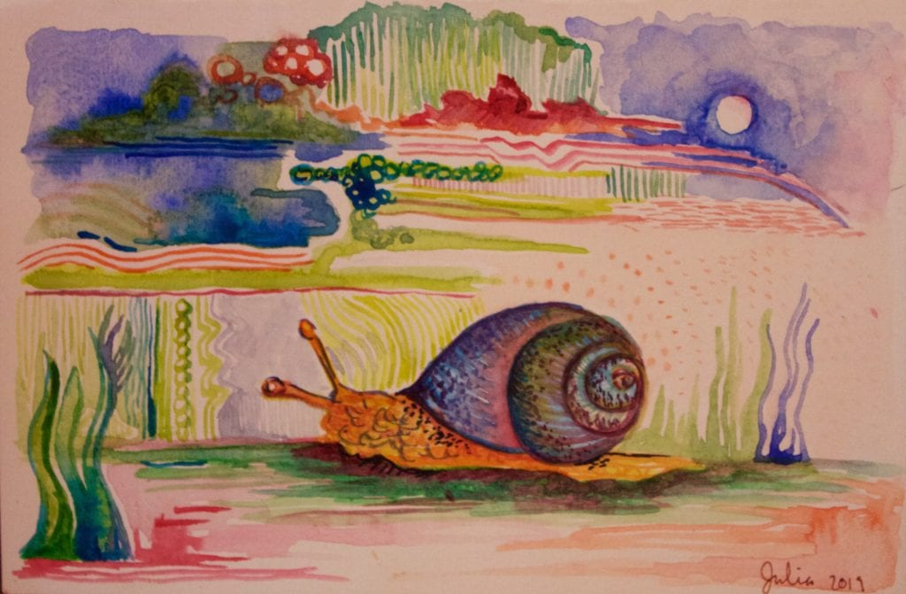 Watercolor: $25